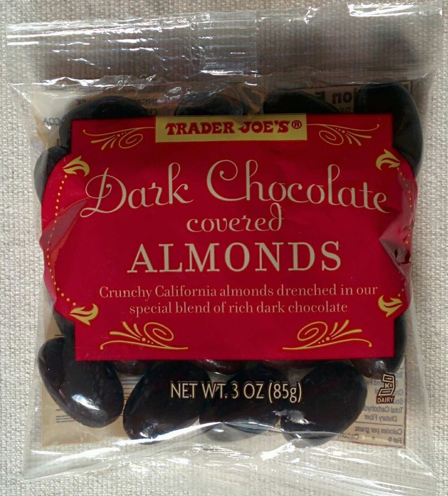 Taza Chocolate Chocolate Covered Almonds