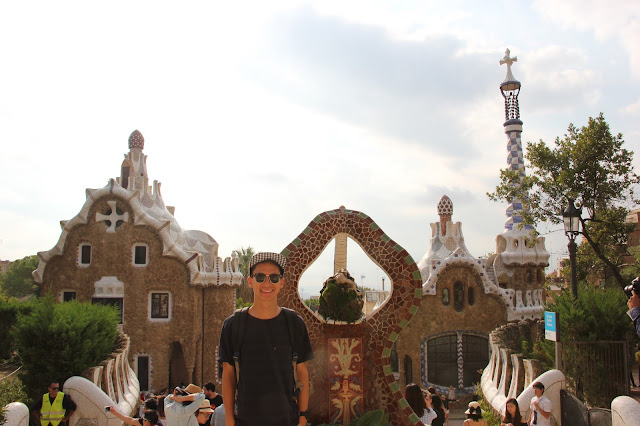 park guell monument zone