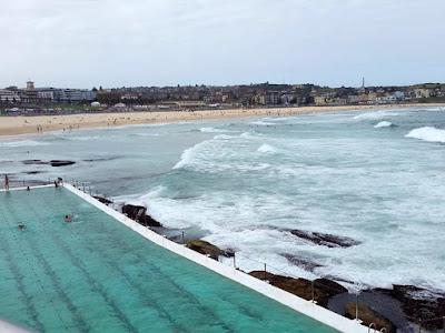 Ocean pool at Bondi Beach Sydney Australia