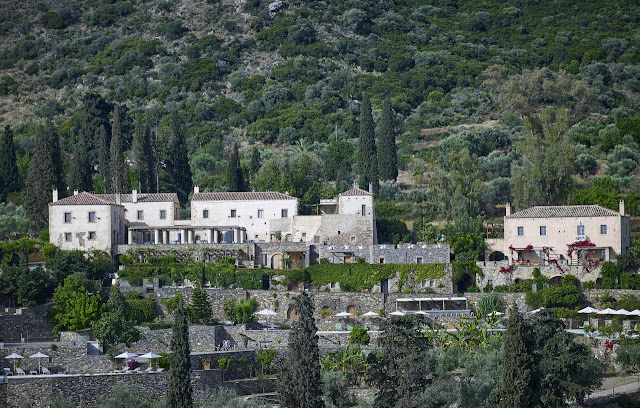 The Kinsterna Hotel and Spa, the Peloponnese, Greece