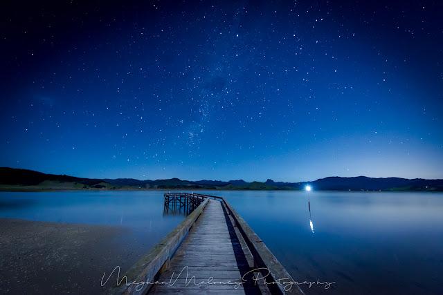 night sky coromandel matarangi jetty stars