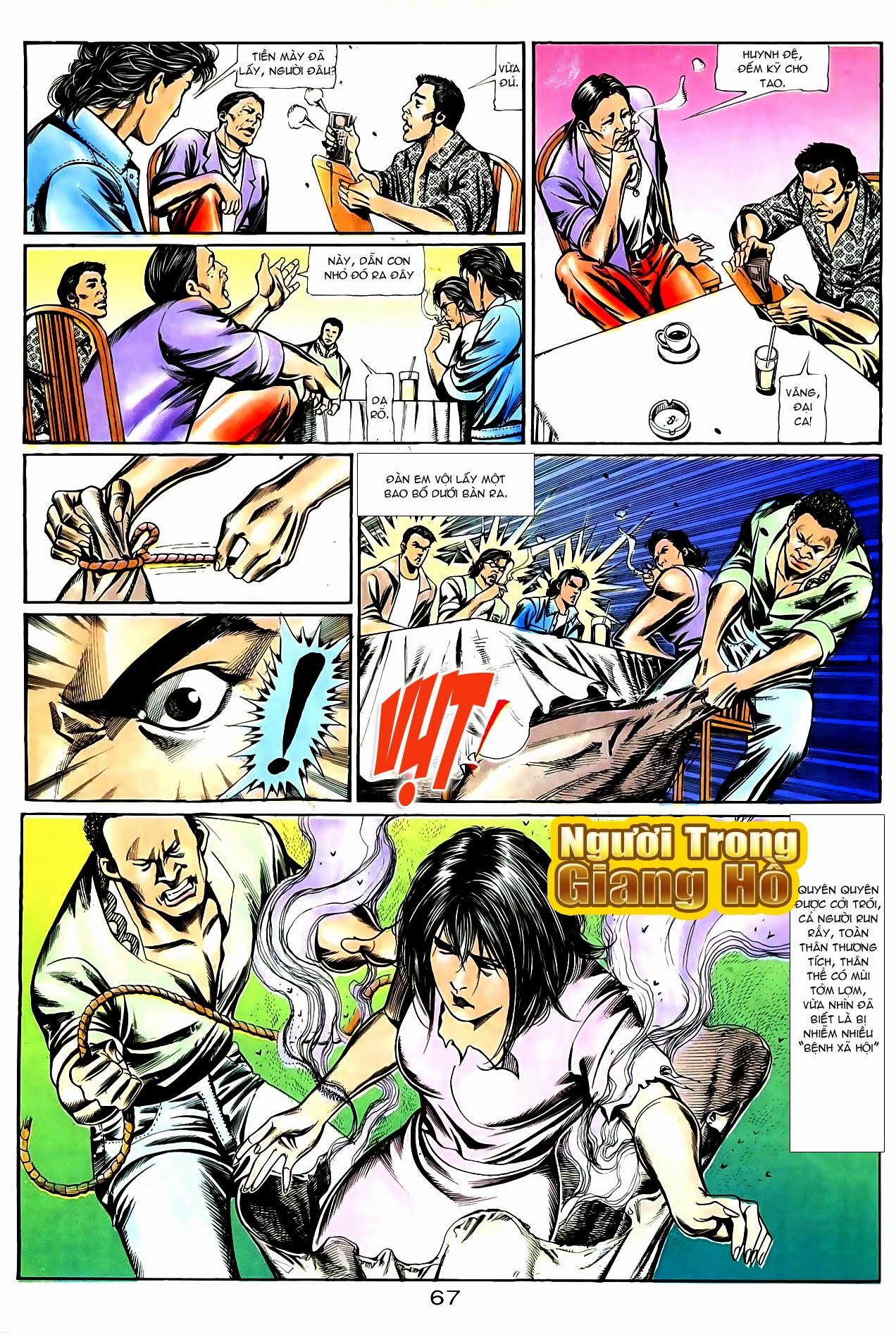 Người Trong Giang Hồ chapter 86: săn báo trang 10