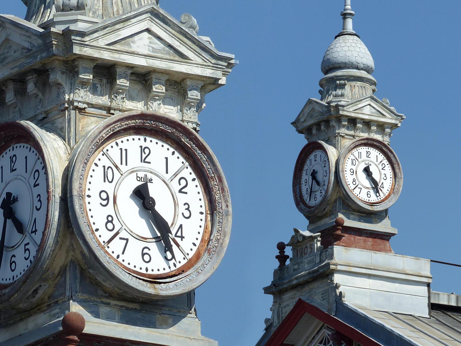Gare de Tourcoing - Horloge Brillié