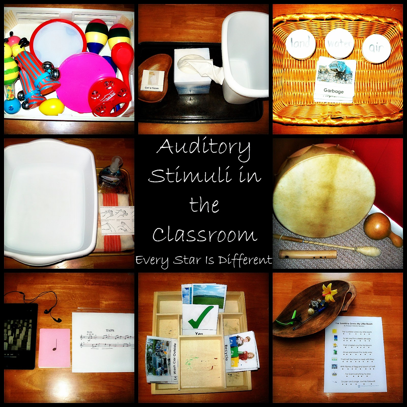 Auditory Stimuli in the Classroom