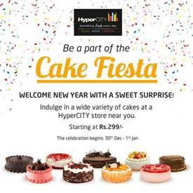 Hypercity, Cake Fiesta is back