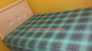 sprei waterproof motif