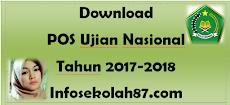 Penting Download POS Ujian Nasional Tahun 2017-2018