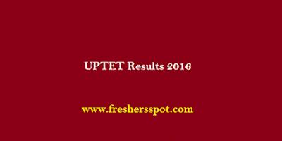 UPTET Results 2016 Declared