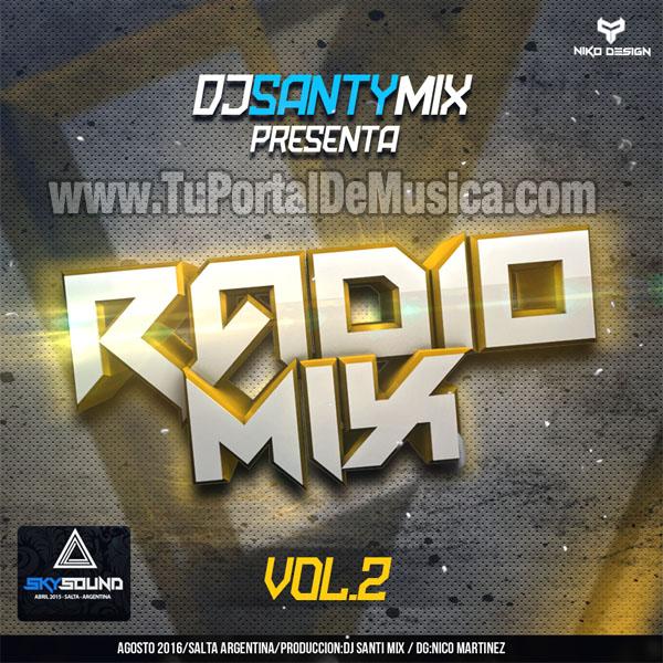 Dj Santy Mix Radio Mix 2 Sky Sound (2016)
