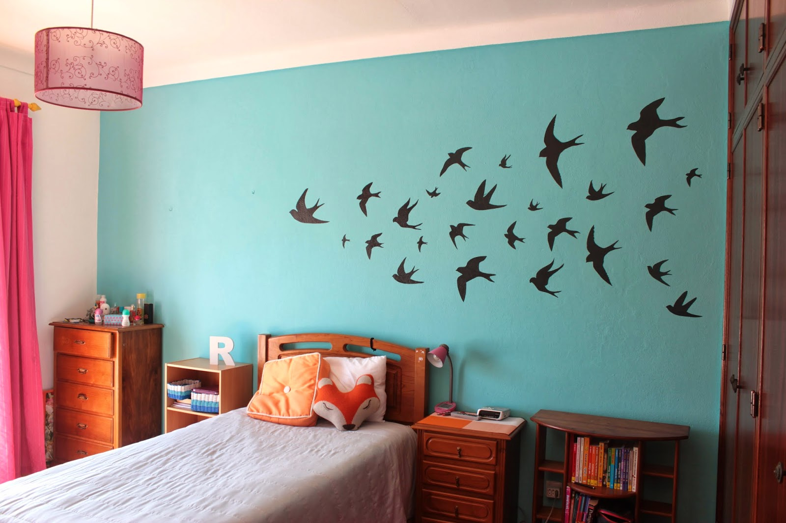 Swallow Wall Stickers Swallows Wall Decor Curly Made