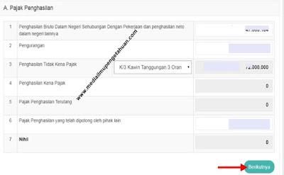 Cara mengisi SPT Pajak Penghasilan di DPJ Online