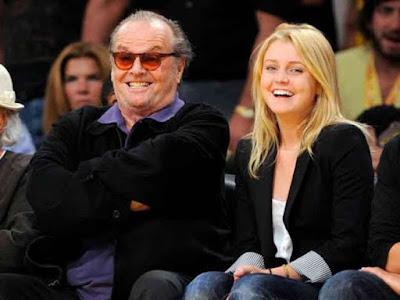Jack Nicholson y su hija Lorrain