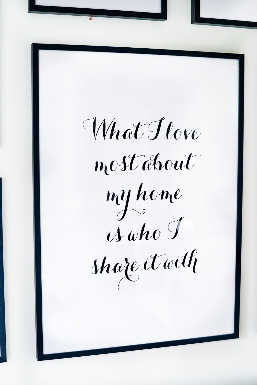 desenio, Scandinavian prints and frames, scandinavian posters, scandinavian decor, modern frames, modern quote prints,