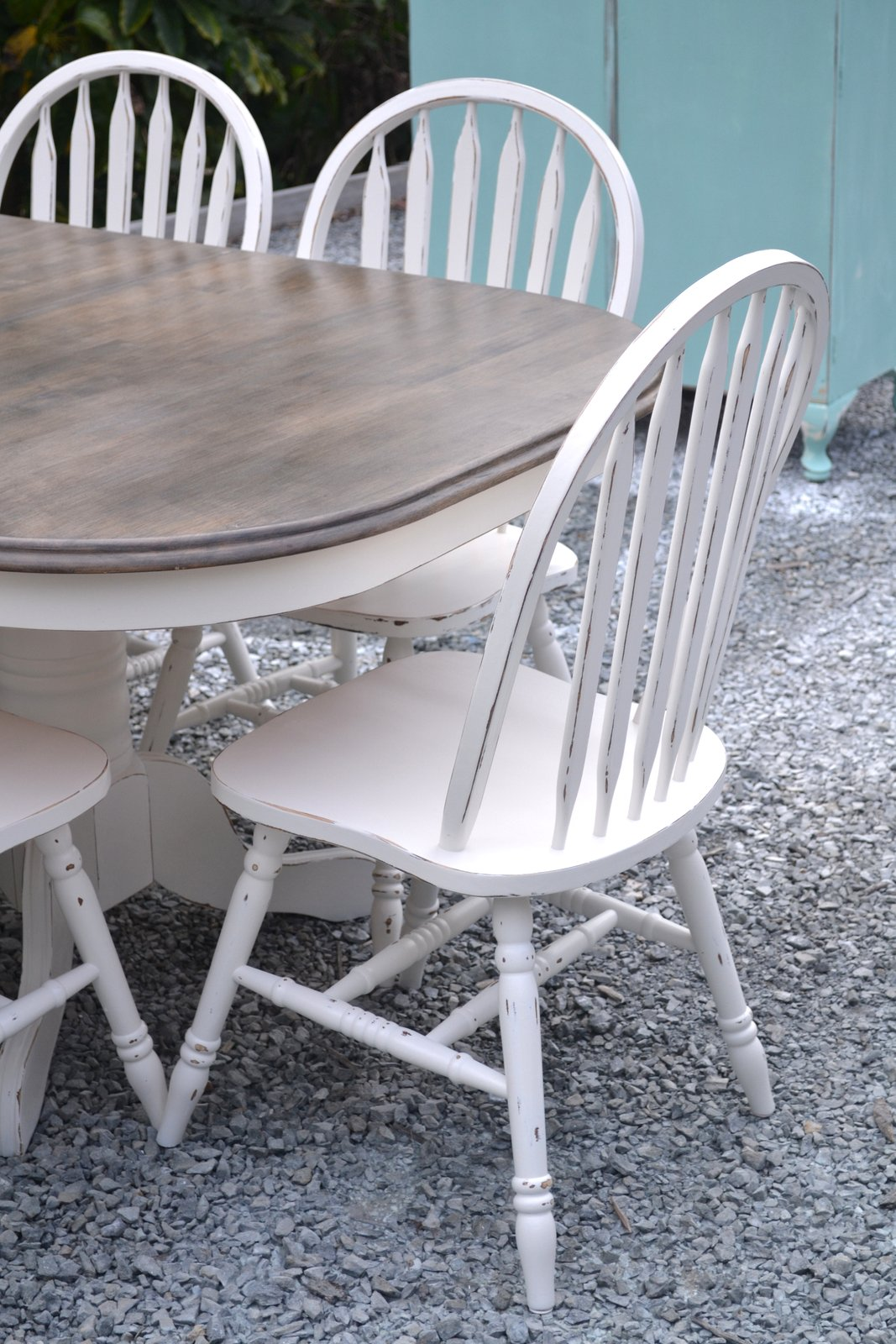 White Chalk Paint Armoire