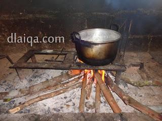 Nasi Kuku Kayu Bakar