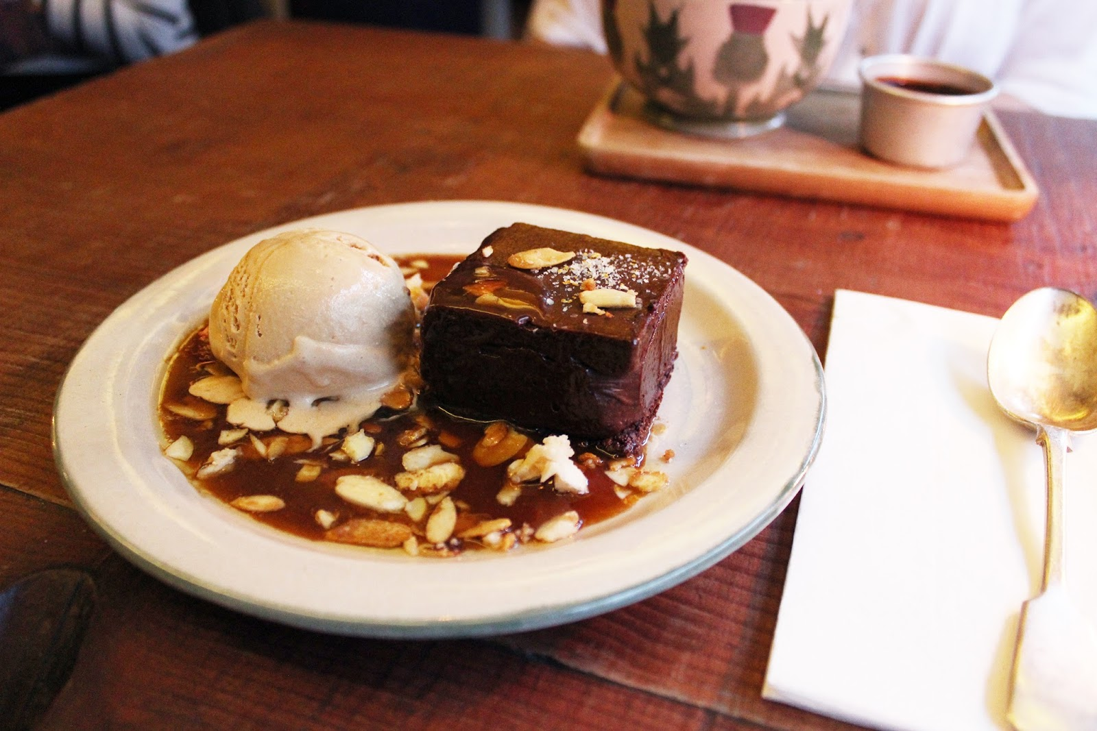 Mac and Wild restaurant review - chocolate dessert