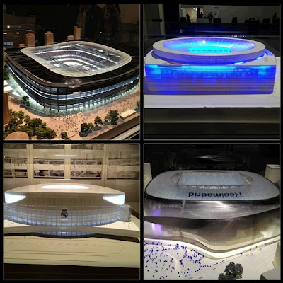 Projects for the future Santiago Bernabeu Stadium 2012