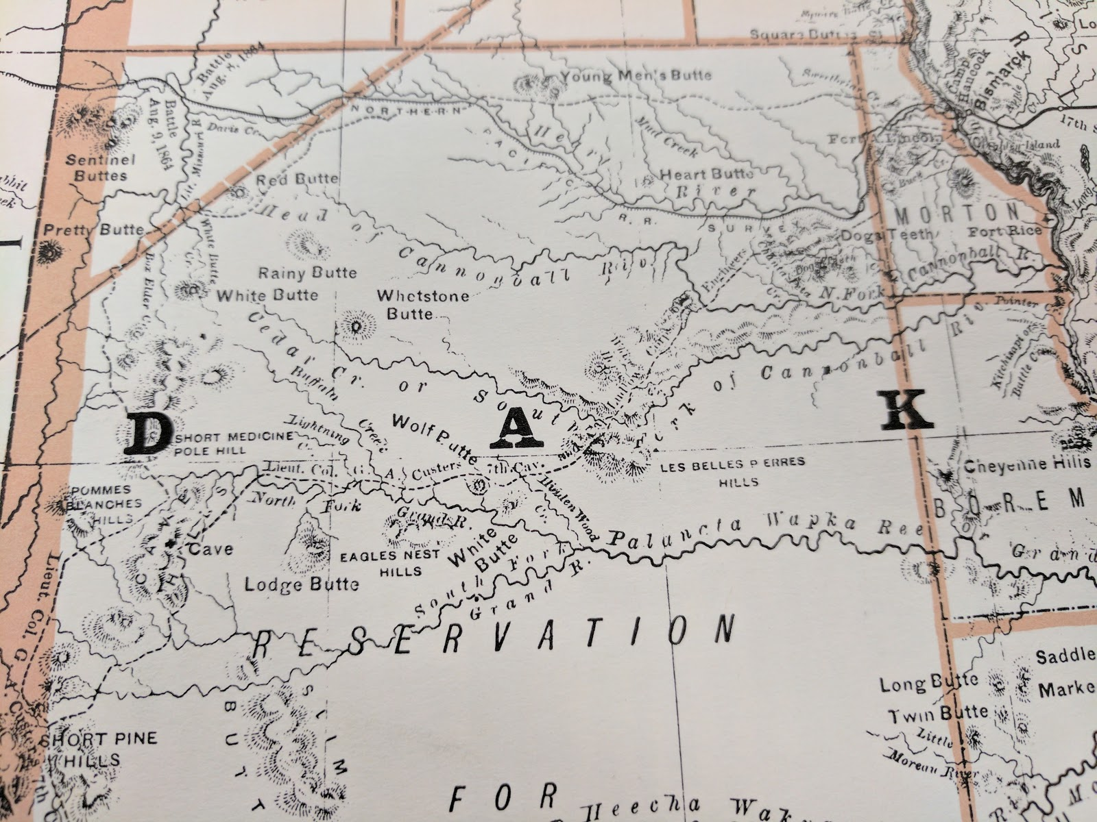 facsimile reproduction dakota rand mcnally co s business atlas of 1876
