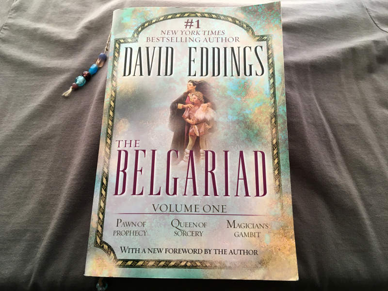 Review of The Belgariad Volume One by David Eddings | Lydia Sanders #TwistyMustacheReviews