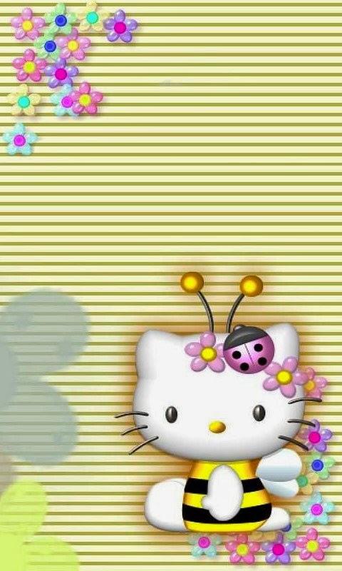 Gratis download wallpaper hello kitty lucu untuk android