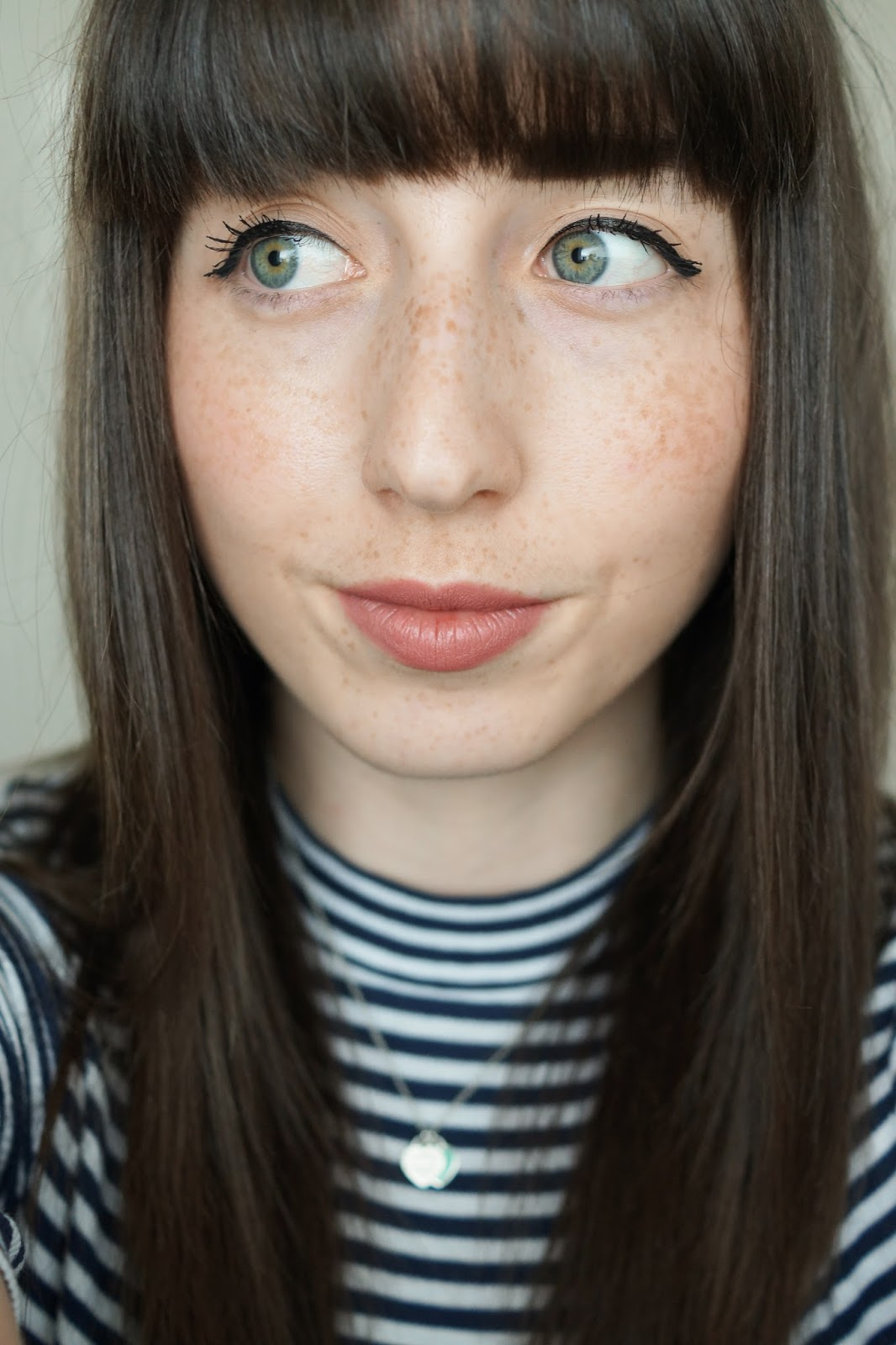 Hello Freckles Charlotte Tilbury Pink Lipstick Pillow Talk Swatch Makeup Review Beauty