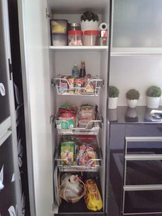 Susun Atur Bahagian Dalam Kabinet Dapur