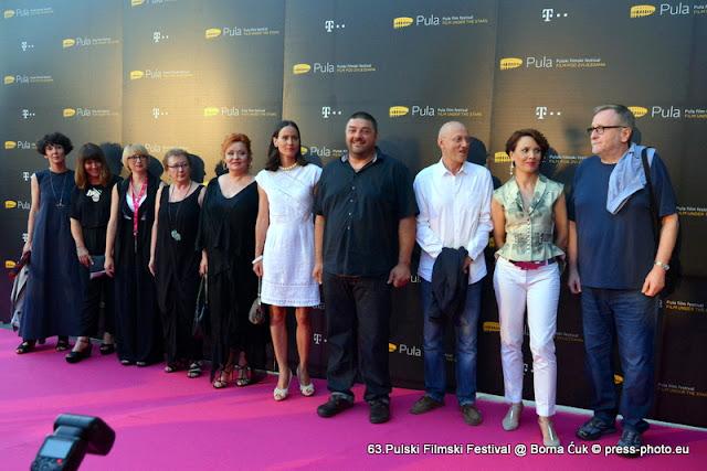 63.Pulski filmski festival @ otvorenje festivala, Pula 09.07.2016