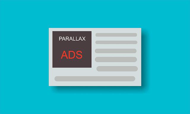 Cara Mudah Membuat Iklan Parallax Adsense di Blog