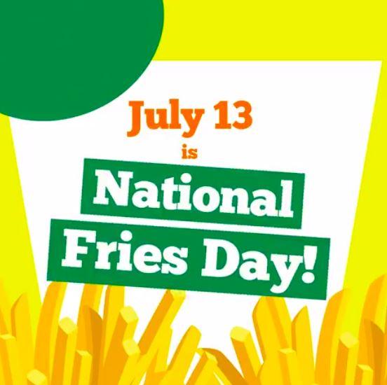 Manila Shopper: Potato Corner National Fries Day Promo: July