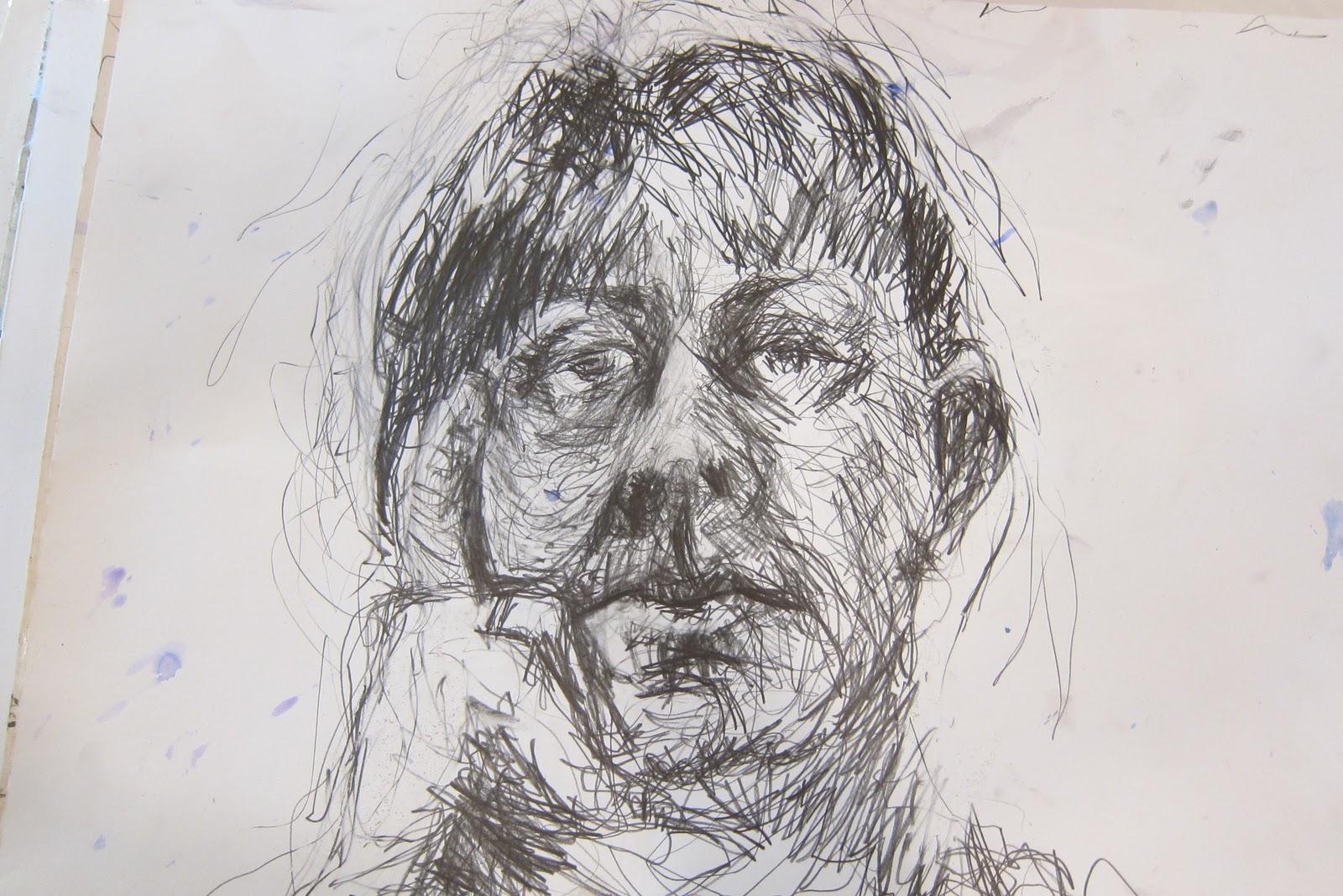 Helena Lloyd Art: Drawing Workshop with David Fairbairn