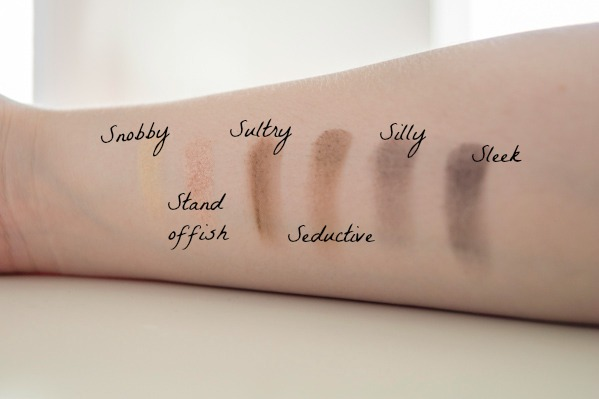 Nude'tude swatches