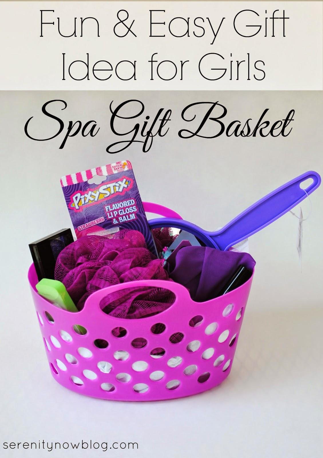 Serenity Now Gift Basket Birthday Present Plus Theme