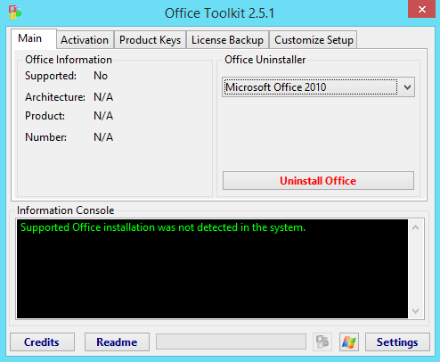 microsoft toolkit failed to install tap adapter