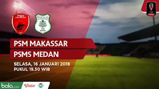 Susunan Pemain PSM Makassar vs PSMS Medan