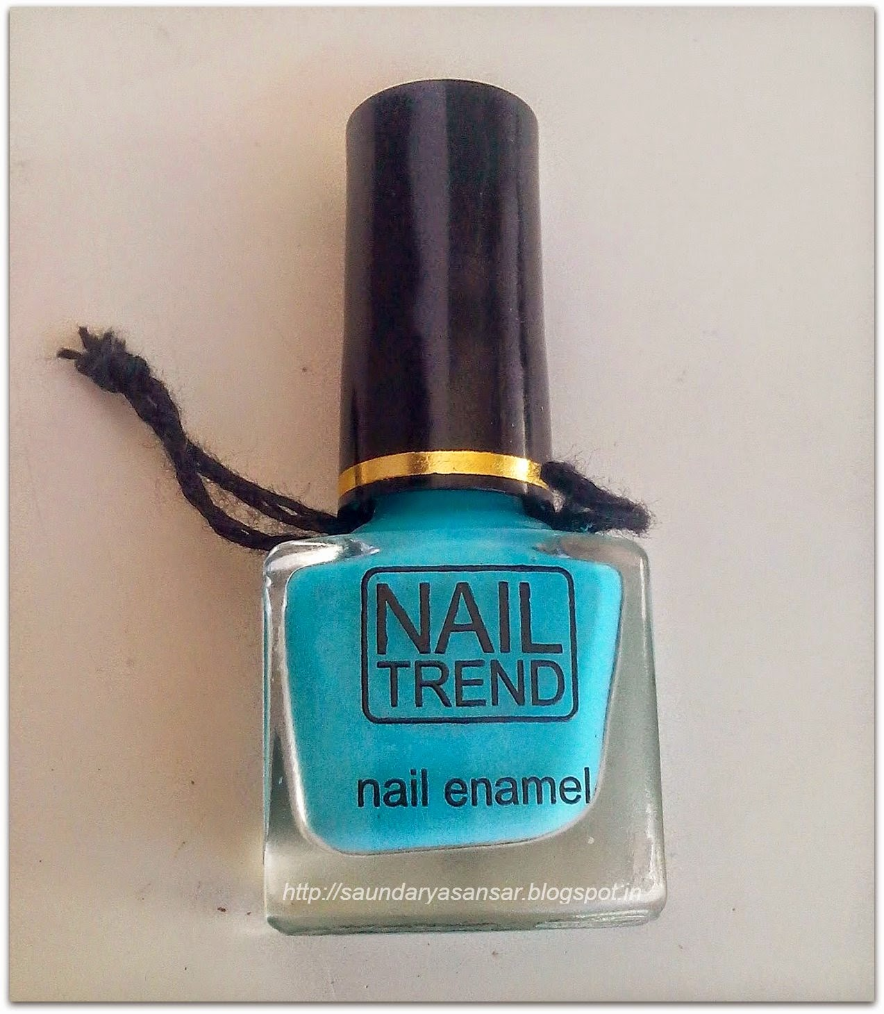 Pretty Nails with NAIL TREND in Peppy and Fresh Blue...Swatches & Review