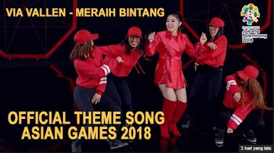 Download Lagu Via Vallen Meraih Bintang Mp3 Asian Games 2018