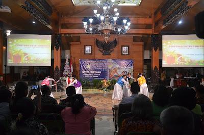 Pemkab Trenggalek Gelar Perayaan Natal Bersama BAMAG, KORPRI, TNI, Polri dan Umat Kristiani