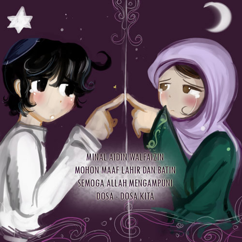 Koleksi Lengkap Kartu Ucapan Selamat Idul Fitri 1 Syawal