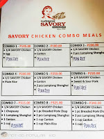 Savory Chicken Combo Meals for Students