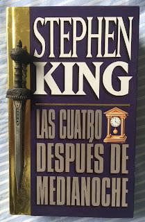 Portada del libro Las cuatro después de medianoche, de Stephen King