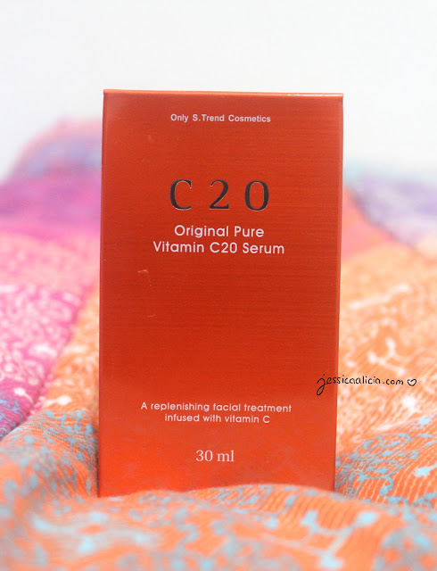 OST C20 Pure Vitamin Serum review by Jessica Alicia