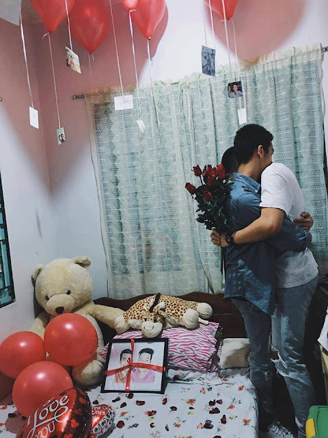 GINALINGAN! You'll Never Believe What This Guy Did to Surprise His Boyfriend! Must See!
