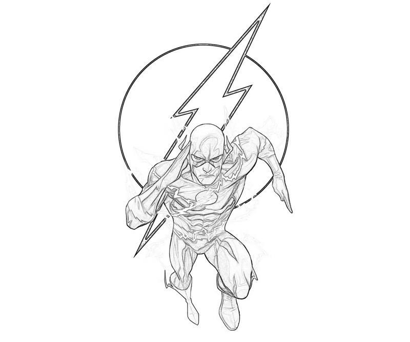 flash symbols coloring pages - photo#20