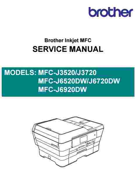 brother mfc j3520 mfc j3720 service manual download service manual rh servicemanualguidepdf blogspot com brother printer error manual feed brother printer repair manual