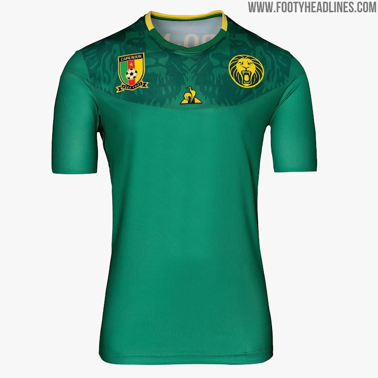 best loved 4ce9d 6c959 Le Coq Sportif Kamerun 2019 Trikots Enthüllt - Frauenfußball ...