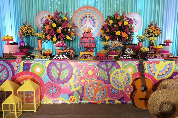 101 fiestas lindas ideas para una fiesta de adolescentes for Decoracion fiesta anos 60