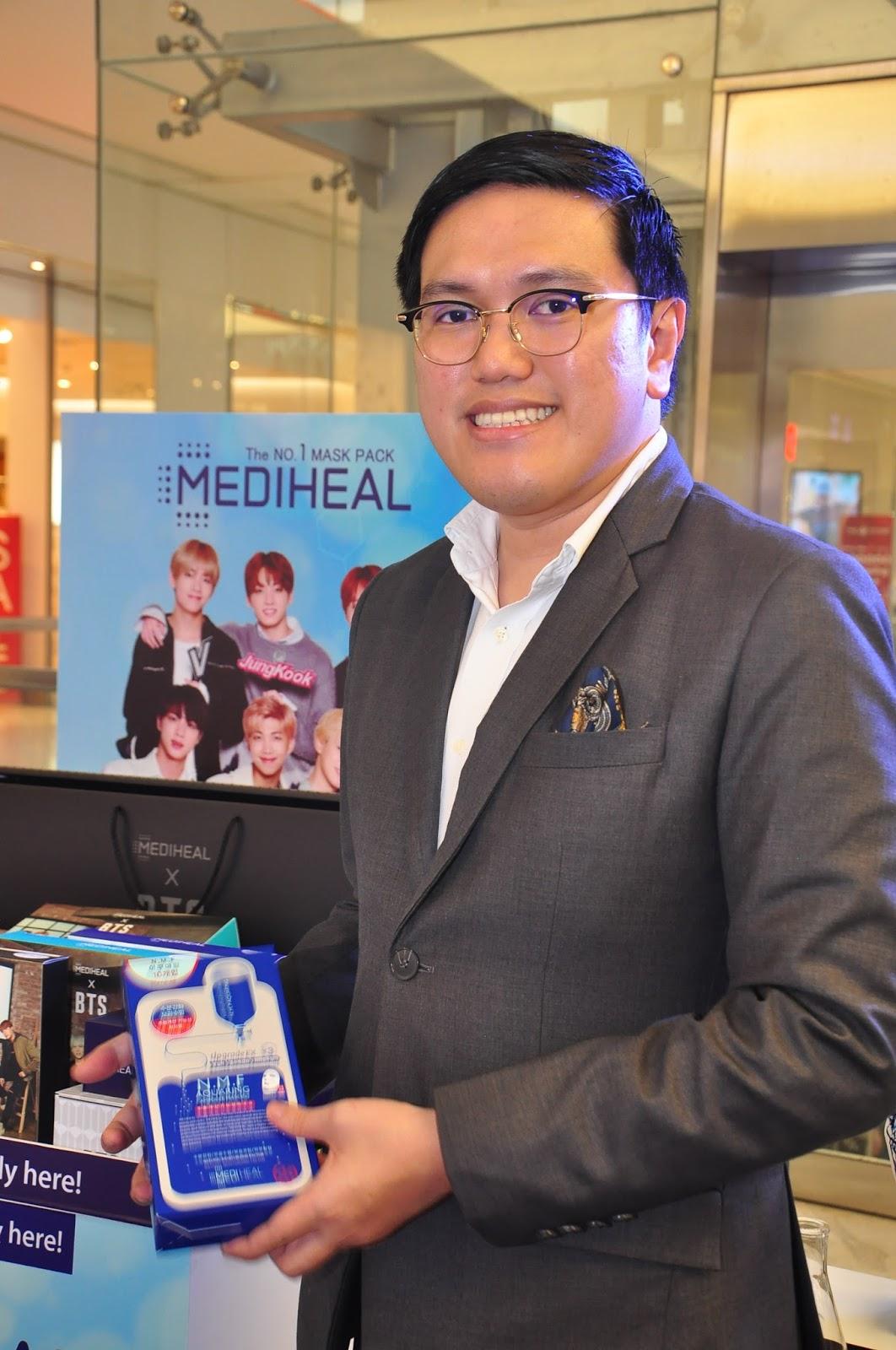 The Global No1 Mediheal Mask Packs That Dominated Koreas Drugstore K Pop Power Bank Exo Bts Bangtan Boys 5000mha Jared De Guzman Watsons Group Category Manager