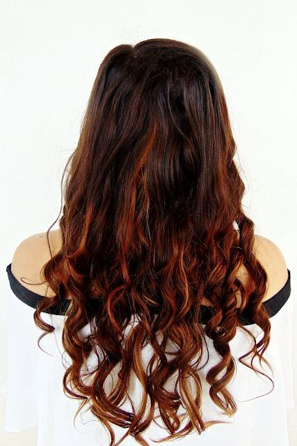 cabello hidratado con aceite de ricino