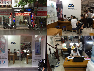 MaxMobile trung tâm sửa chữa điện thoại uy tín tại Hà Nội.