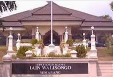 Info Pendaftaran Mahasiswa Baru ( UIN/IAIN WALI SONGO ) Universitas Islam Negeri / Institut Agama Islam Negeri Wali Songo Semarang